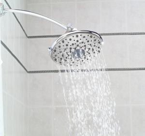 Rain shower fixture